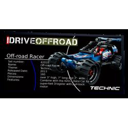 Plaque type UCS Off-Road...