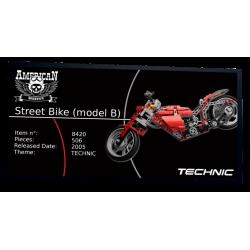 Plaque type UCS Street Bike...