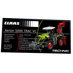 Plaque type UCS  Claas...