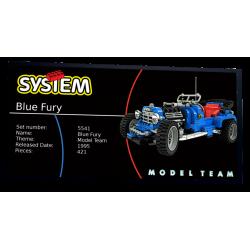 Plaque type UCS  Blue Fury...