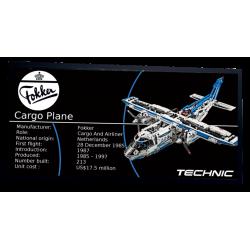 Plaque type UCS Cargo Plane...