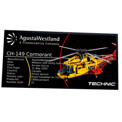 Plaque type UCS Helicopter...