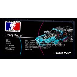 Plaque type UCS Drag Racer...