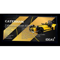 Plaque type UCS Caterham...
