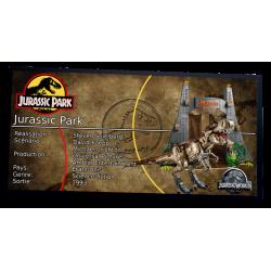 Plaque type Jurassic Park...