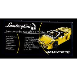 Plaque type UCS Lamborghini...