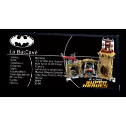 Plaque type UCS Batcave réf...