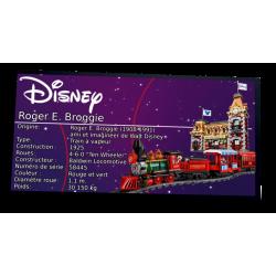 Plaque type UCS Disney...