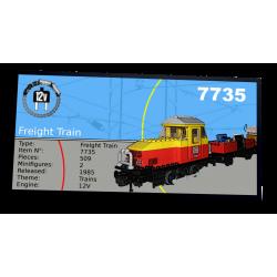 Plaque type UCS  Freight...