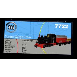 Plaque type UCS Steam Cargo...