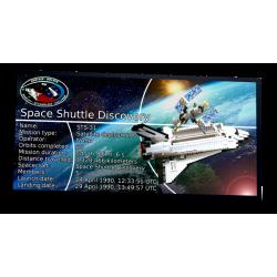 Plaque type UCS Space...