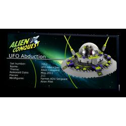 Plaque type UCS UFO...