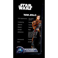 Plaque type UCS  Han Solo...