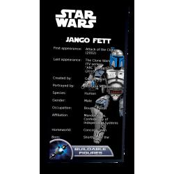 Plaque type UCS Jango Fett...