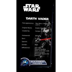 Plaque type UCS Dark Vador...