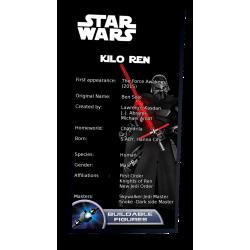 Plaque type UCS Kylo Ren...