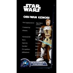 Plaque type UCS Obi-Wan...