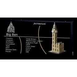 Plaque type UCS Big Ben réf...