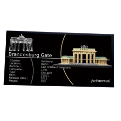 Plaque type UCS Brandenburg...