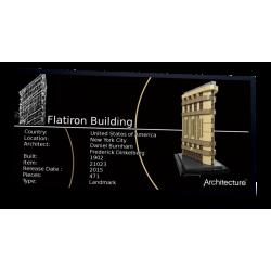 Plaque type UCS Flatiron...